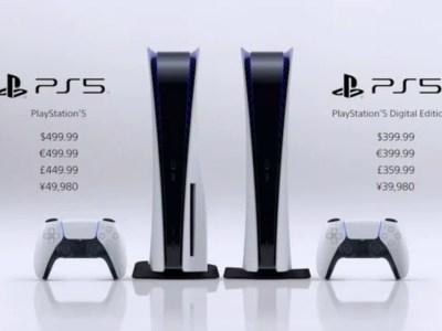 Sony Mengumumkan Tanggal Rilis dan Harga Konsol PlayStation 5 5