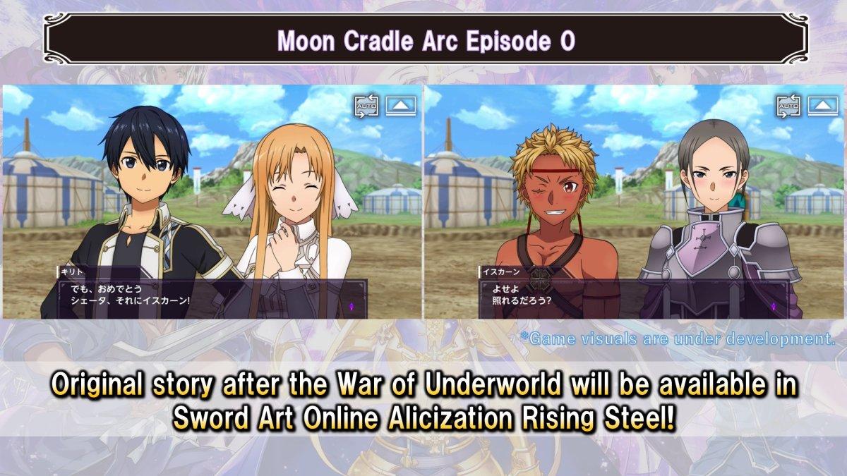 Sword Art Online Arc Moon Cradle Akan Dirilis Ceritanya Lewat Game Sword Art Online Alicization Rising Steel 4