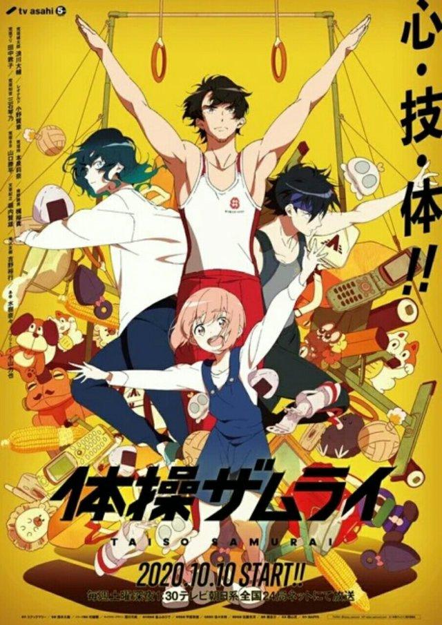 Anime TV Taiso Samurai Garapan MAPPA Ungkap Seiyuu Lainnya, Video Promosi, dan Visual 2
