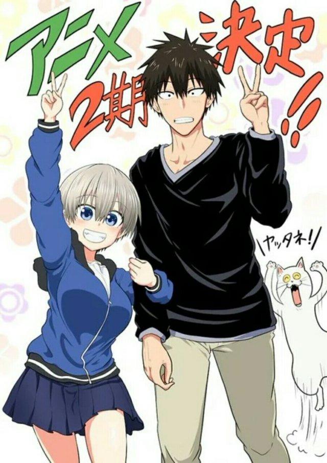 Anime Uzaki-chan Wants to Hang Out! Dapatkan Season Kedua 2
