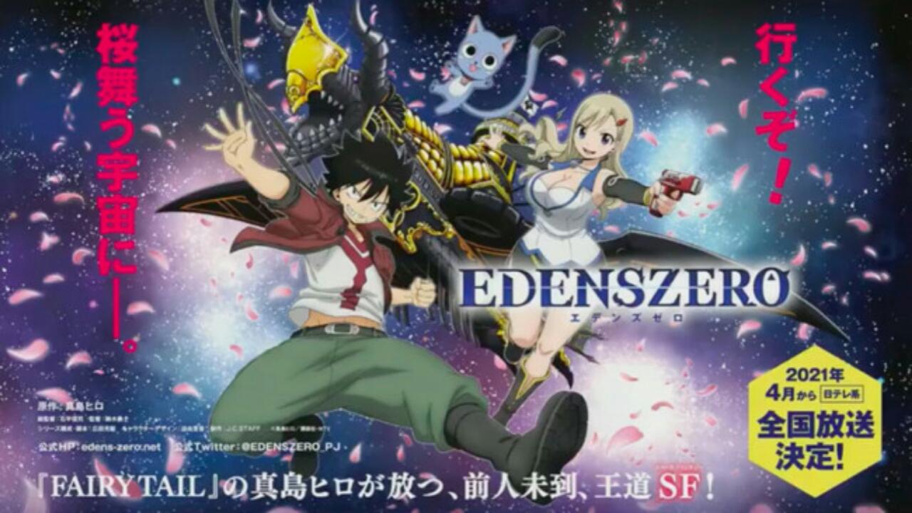 J.C. Staff Memproduksi Anime TV Edens Zero untuk Debut pada Bulan April 2021 1