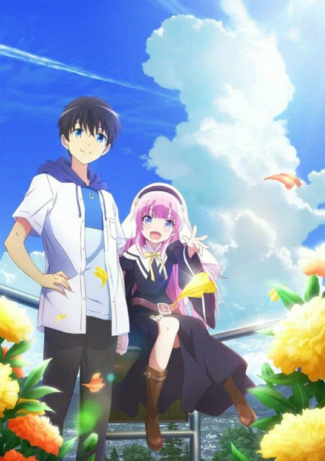 Anime The Day I Became a God Garapan Key dan P.A. Works Memperkenalkan Karakter dan Seiyuu Lainnya 9