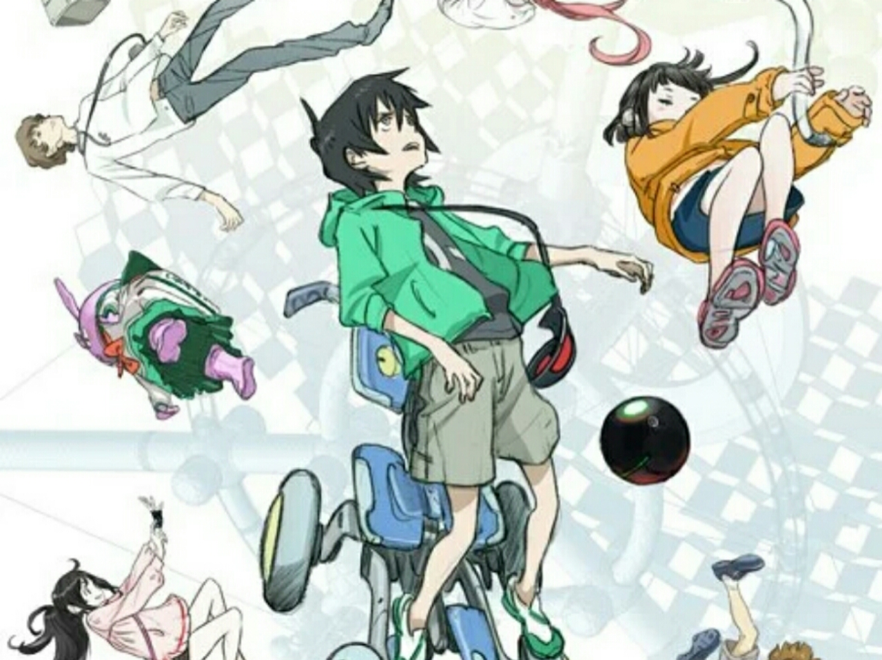 Mitsuo Iso Ungkap Studio Baru Anime Extra-Terrestrial Boys & Girls, Tahun Debutnya, dan Visual 1