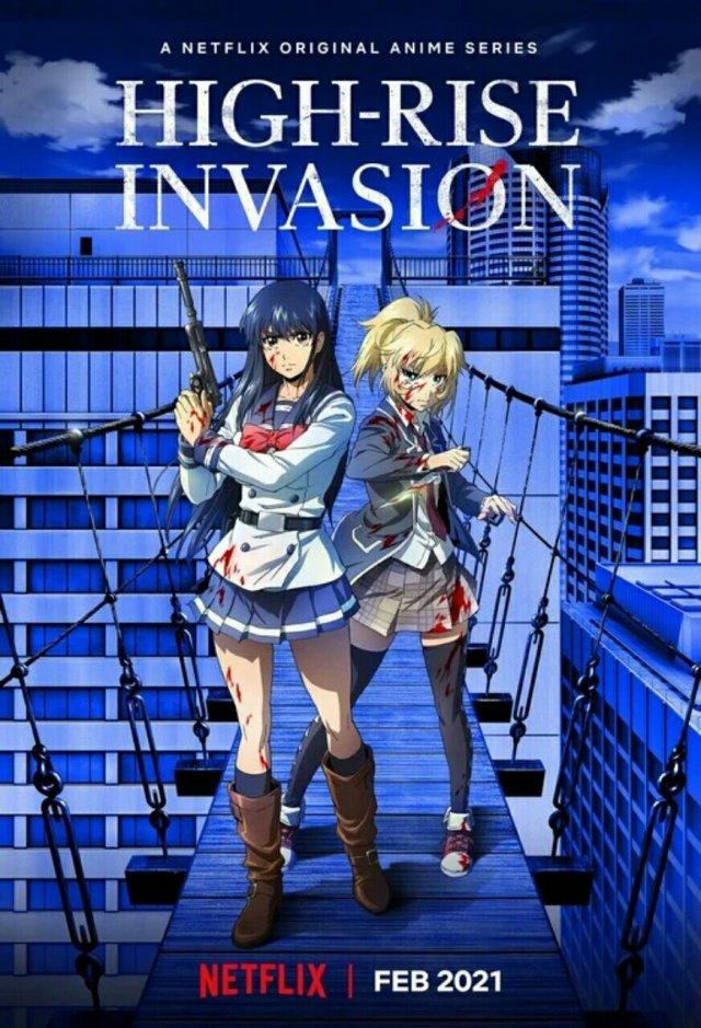 Manga High-Rise Invasion Dapatkan Seri Anime untuk Bulan Februari 2021 3