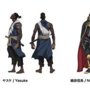 Netflix Ungkap Kapan Debutnya Anime Yasuke dari LeSean Thomas dan MAPPA serta Desain Karakternya 16