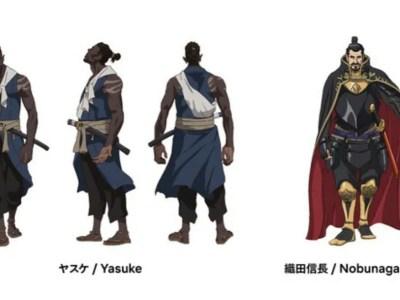 Netflix Ungkap Kapan Debutnya Anime Yasuke dari LeSean Thomas dan MAPPA serta Desain Karakternya 11