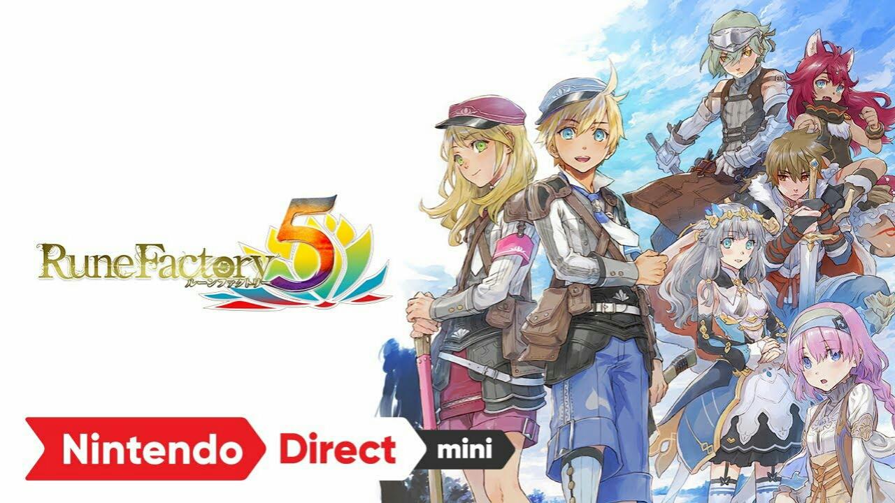 Game Switch Rune Factory 5 akan Diluncurkan di Jepang pada Tanggal 20 Mei 2021 1