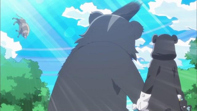 Nikmati Aroma Keringat Yuna Setelah Melepas Kostum Beruang Kuma Kuma Kuma Bear 31