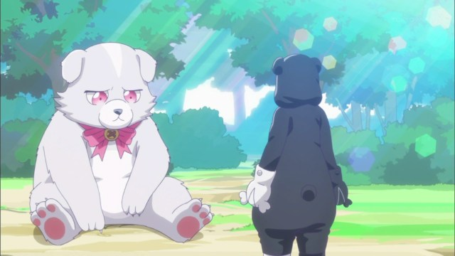 Nikmati Aroma Keringat Yuna Setelah Melepas Kostum Beruang Kuma Kuma Kuma Bear 41
