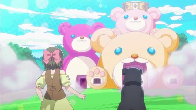 Nikmati Aroma Keringat Yuna Setelah Melepas Kostum Beruang Kuma Kuma Kuma Bear 44