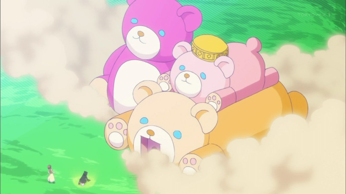 Nikmati Aroma Keringat Yuna Setelah Melepas Kostum Beruang Kuma Kuma Kuma Bear 45