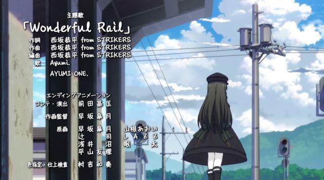 Siap-Siap Overdosis Melihat Gadis Kereta Moe Dari Anime Rail Romanesque Adaptasi Maitetsu 42