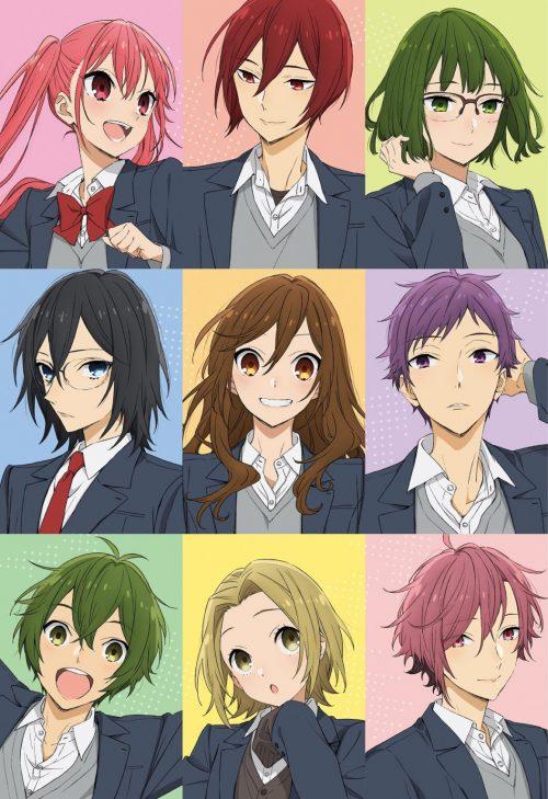 Anime Hori-san to Miyamura-kun Ungkap 9 Pemeran Tambahan, Staff Tambahan, serta Visual Baru 2