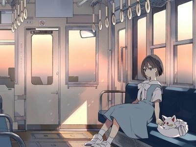 """Lofi Anime Chill / Hip Hop Radio """"KITSUNE-TSUKI"""", yang Terkadang Berubah Menjadi Merah Dengan Dedaunan Musim Gugur Seperti Kyoto Saat ini, Telah Memulai Siaran Langsung di YouTube! 3"""