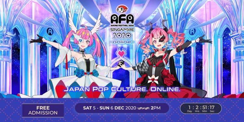 Japan Idol Group 22/7, Moona Hoshinova, Ayaka Ohashi, dan Lebih Banyak Lagi Musisi & Idol Favorit Tampil di Stage Virtual AFA! 1