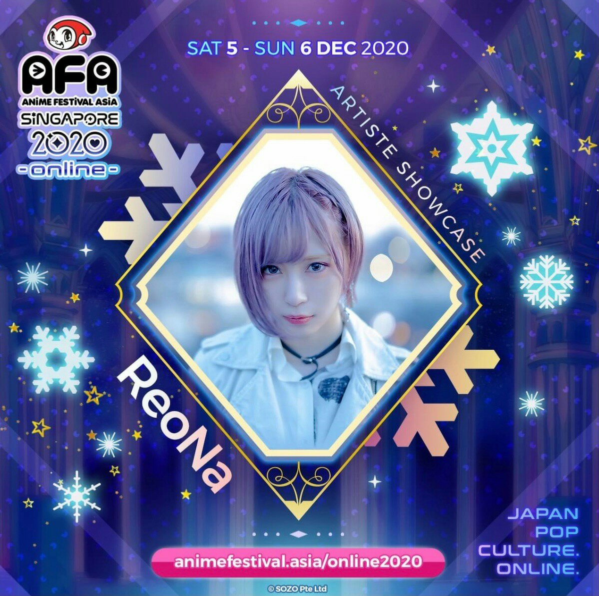 Japan Idol Group 22/7, Moona Hoshinova, Ayaka Ohashi, dan Lebih Banyak Lagi Musisi & Idol Favorit Tampil di Stage Virtual AFA! 7