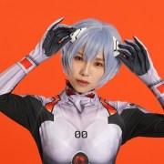 Debut Dunia Singing Cosplayer Hikari Sebagai Rei Ayanami dari Evangelion dari Jepang! 11