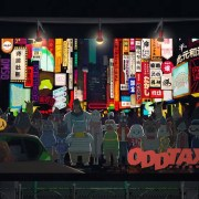 Anime Odd Taxi Akan Tayang Pada April 2021 9
