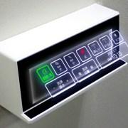 Toilet Jepang Menjadi Lebih Canggih dengan Panel Tombol Melayang Baru 15