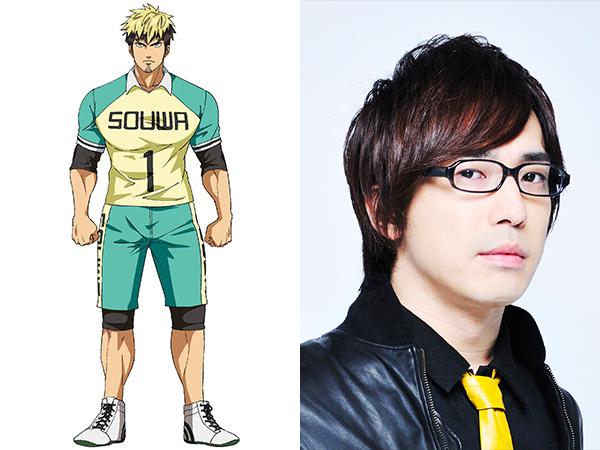 Anime Shakunetsu Kabaddi Ungkap Para Pemeran yang akan Bermain di Tim SMA Souwa 2