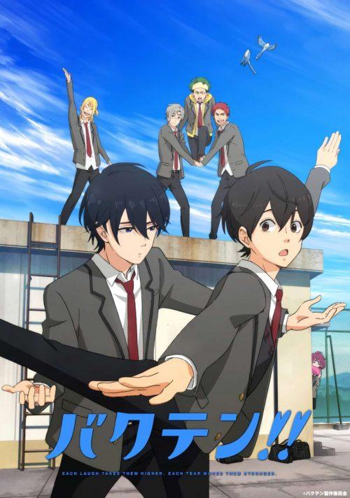 Anime TV Bakuten!! akan Mulai Tayang pada Bulan April 2