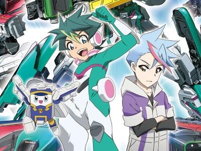 Anime TV Shinkansen Henkei Robo Shinkalion Z the Animation akan Mulai Tayang pada Bulan April 11