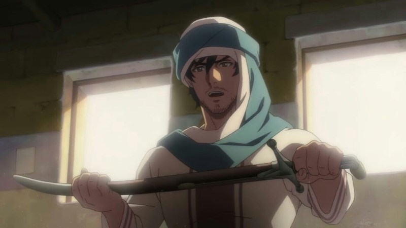 Manga Productions dari Arab Saudi dan Toei Memperdengarkan Suara Seiyuu Jepang untuk Film The Journey (Ar-Rihlah) dalam Trailer 1