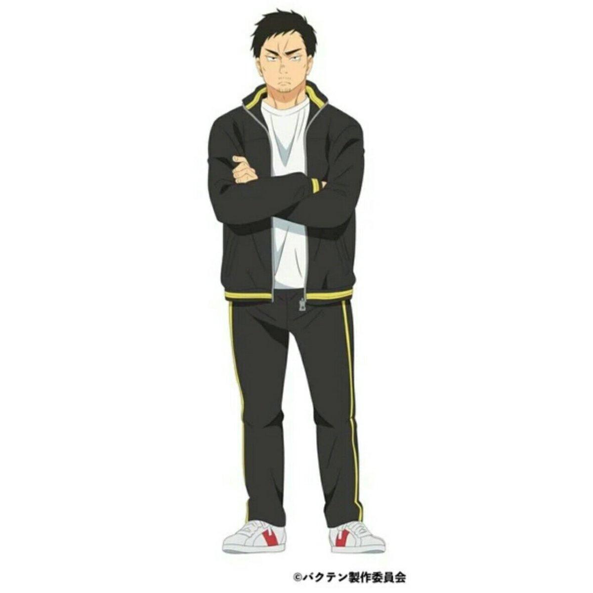 Kenichirō Matsuda Ikut Berperan dalam Anime Bakuten!! 2