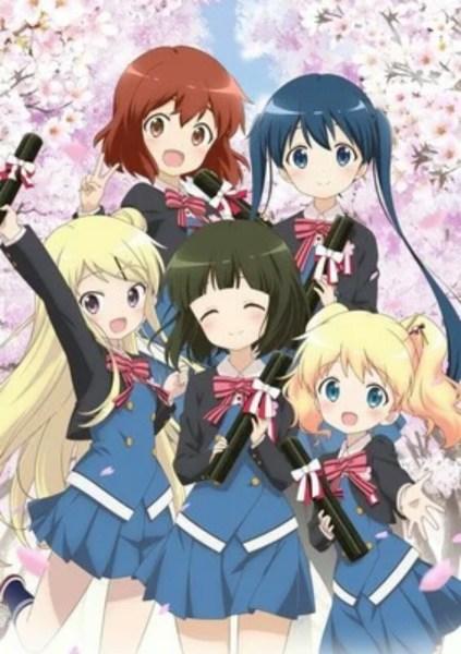 Film Anime Kin-iro Mosaic Ungkap Staf Lainnya dan Tanggal Tayang dalam Iklan 1
