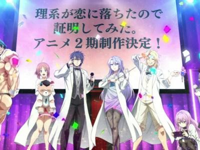 Anime 'Science Fell in Love, So I Tried to Prove it' Season 2 akan Tayang pada Tahun 2022 1