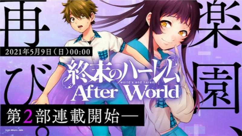 Manga World's End Harem Berlanjut dengan Bagian Kedua dan Judul Baru pada Tanggal 9 Mei 1