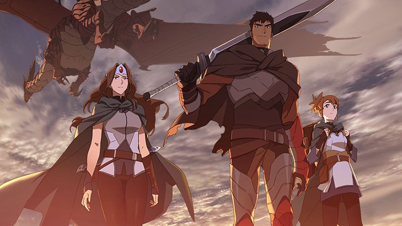 "Anime Series DOTA 2 "" DOTA: Dragon's Blood "" Menyediakan Format Bahasa Indonesia 1"