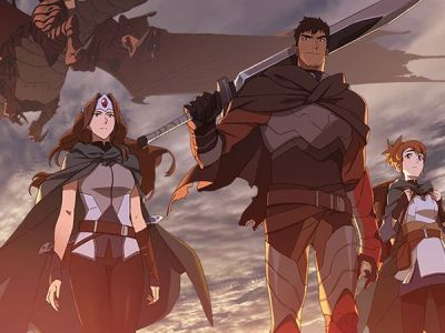 "Anime Series DOTA 2 "" DOTA: Dragon's Blood "" Menyediakan Format Bahasa Indonesia 22"