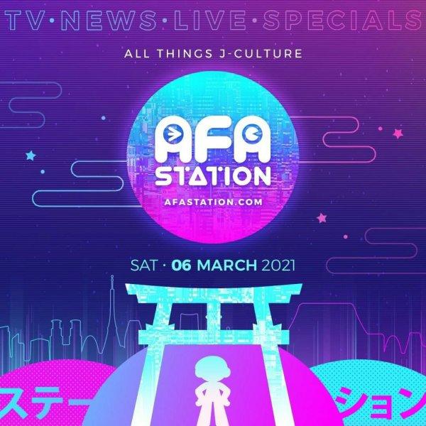 Siaran Perdana AFA Station - J-Culture Entertainment Portal akan Mulai Tayang Perdana pada Tanggal 6 Maret 2021! 1