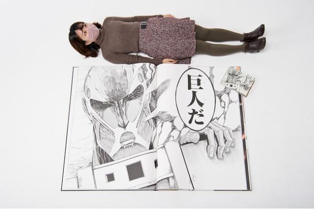 Kodansha telah Menerbitkan Manga Attack on Titan dengan Ukuran Raksasa 3