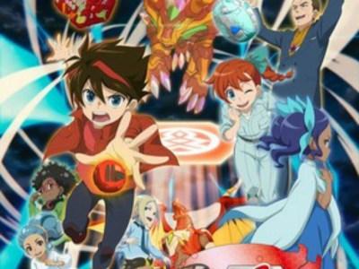 Anime Bakugan: Geogan Rising Akan Tayang Perdana di Jepang pada Bulan April 24