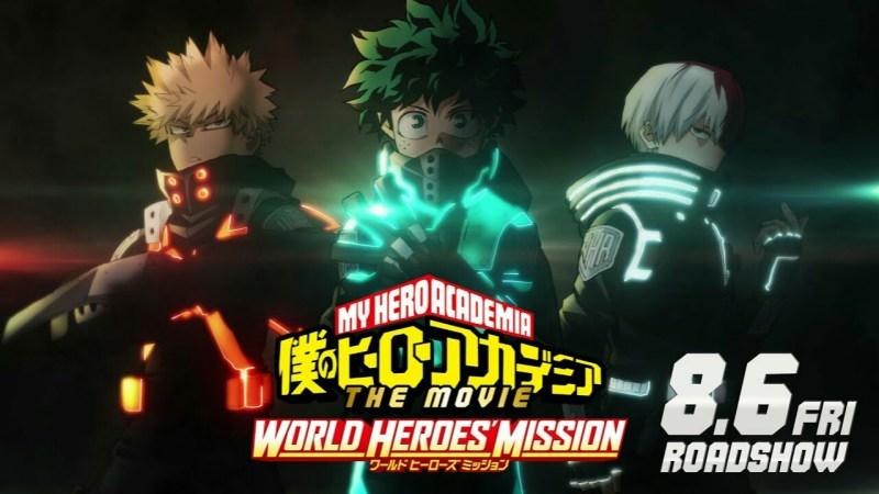 Film Anime My Hero Academia Ketiga Mengungkapkan Judul Lengkap dan Tanggal Pembukaannya dalam Teaser Pertama 1