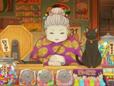 Anime TV Fushigi Dagashiya Zenitendō Diperankan oleh Wataru Takagi dan Ai Fairouz 1