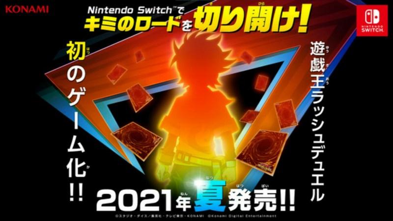 Game Yu-Gi-Oh! Rush Duel Besutan Konami Akan Diluncurkan untuk Switch pada Musim Panas Tahun Ini 1