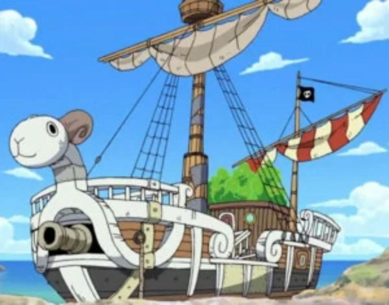 """Para Pria Ditangkap karena Penangkapan Ikan secara Ilegal dengan Perahu yang Dinamakan """"Going Merry,"""" Kapal dari One Piece 1"""