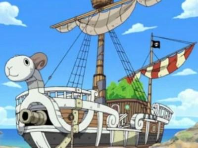 """Para Pria Ditangkap karena Penangkapan Ikan secara Ilegal dengan Perahu yang Dinamakan """"Going Merry,"""" Kapal dari One Piece 37"""