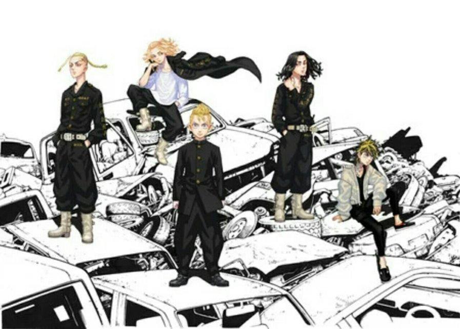 Anime Tokyo Revengers Diperankan oleh Shō Karino dan Shunichi Toki 4