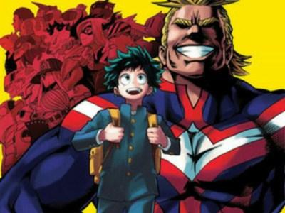 Manga My Hero Academia Berjeda 1 Minggu karena Kesehatan sang Penulis 50
