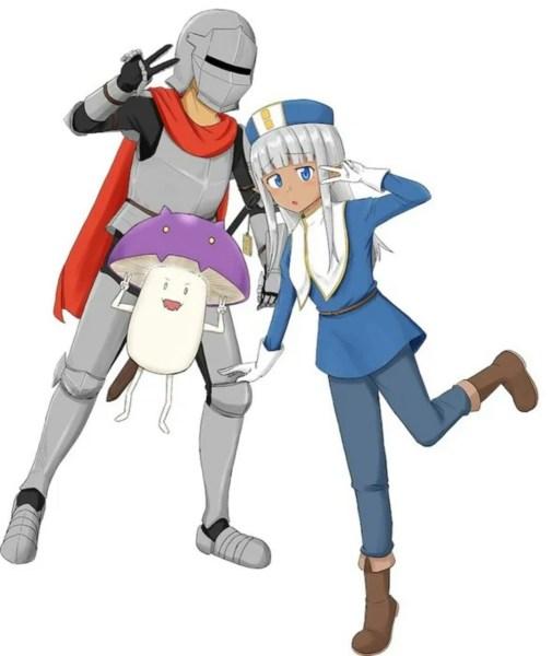 Manga Komedi Fantasi 'Kono Healer, Mendokusai' Mendapatkan Anime TV 1