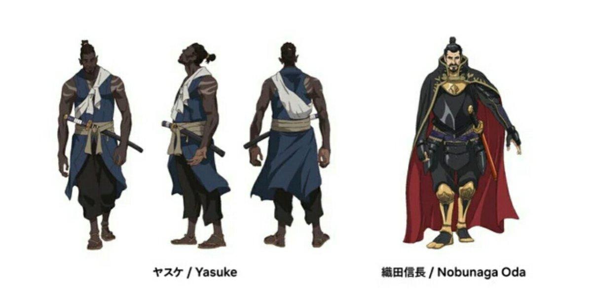 Anime Yasuke Mengungkapkan Seiyuu Jepang dengan Teaser Baru 6