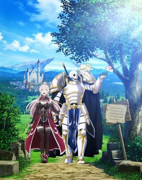 Novel Ringan Skeleton Knight in Another World Mendapatkan Anime TV 1