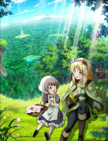 Anime TV In the Land of Leadale Merilis Visual Pertamanya 1