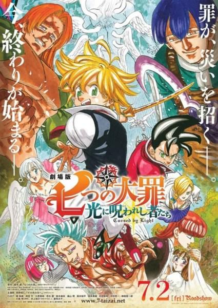 Trailer Lengkap Film Anime The Seven Deadly Sins: Cursed By Light Mengungkapkan Seiyuu Lainnya dan Lagu Tema 1
