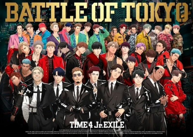 """Anggota Jr.EXILE Berkolaborasi pada Proyek """"Realitas Campuran"""" Battle of Tokyo dari LDH Japan dengan Anime dan Game 1"""