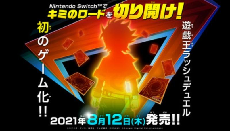 Game Switch Yu-Gi-Oh! Rush Duel Besutan Konami Akan Diluncurkan pada Bulan Agustus 1